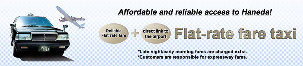Flat-rate fare taxi